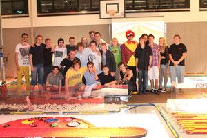 Das komplette CDT Team nach dem Falldown von CDT 2012