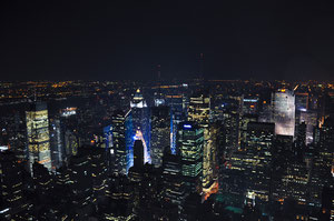 Foto del giorno: New York by night