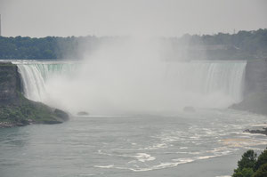 Foto del giorno: vista delle Niagara Falls