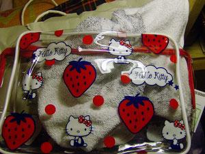 Borsetta porta oggetti Hello Kitty