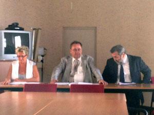 """Michel Barat (au centre) : """" Une rentrée sans souci"""""""