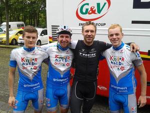 Das Team mit Jens Voigt!