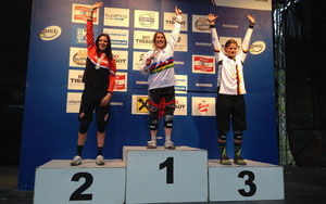 Podium in Leogang © Team ROSE Vaujany fueled by ultraSPORTS