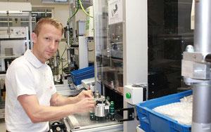 Am Standort Berlin hat die Serienproduktion eines neuartigen e-Bike Elektromotors begonnen ©Brose
