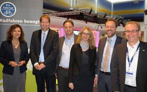 V.l.n.r: Brigitta Worringen, Gero Storjohann, Stefan Zierke, Jeanette Karbe, Claus Bittner, Siegfried Neuberger © ZIV