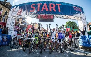 Start in Niederdorf © Sportograf