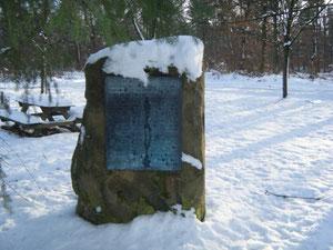 Prinz-Eugen-Gedenkstein im Gewann Frankreich
