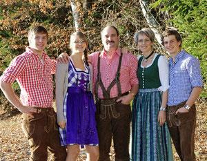 Familie Naderhirn in Wegscheid