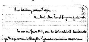 Karin Schröder/™Gigabuch Forschung/Originalhandschrift der Transkription Heft 20