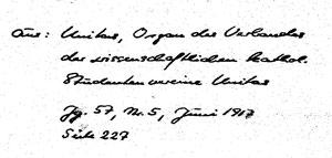 Karin Schröder/™Gigabuch Forschung/Originalhandschrift der Transkription Heft 28
