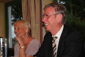 Elke & Horst freuen sich