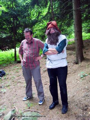 Waldläufer und Berggeist