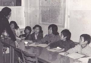 1983 hatten wir schon so viele ehrenamtliche LehrerInnen, dass wir auch Frauen und Kinder unterrichten konnten   Foto: Stiftung