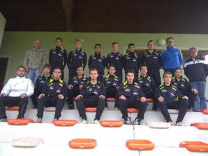 Erfolgreiche U 16 Mannschaft