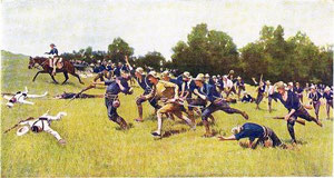 La bataille de San Juan Hill