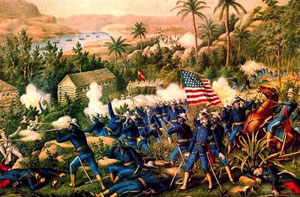 La bataille de Las Guasimas