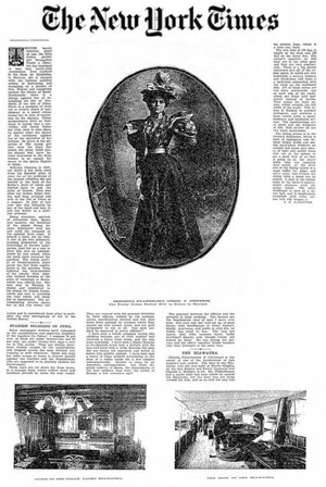 Artículo del New York Times sobre Evangelina Cosio Cisneros