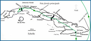 Itinéraire de Gabriela Cuba 1898