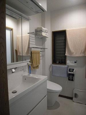 ■洗面トイレ室と洗濯室アフター