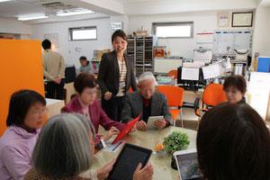 世田谷区カイカ祖師谷教室iPadレッスン風景