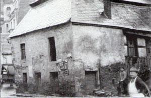 Die Mühle kurz vor dem Abbruch 1912