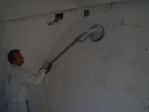 pulido de paredes