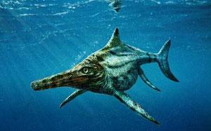 世界最古の魚竜 Utatsusaurus 歌津竜