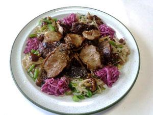「食は三陸に有り」乾鮑と帆立&フカヒレ入りのミニ正月料理
