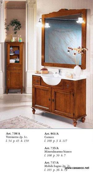 mobili da bagno.arredo bagno. - casaeco pavimenti e rivestimenti ... - Lucido Cabinet Grigio Lavandino