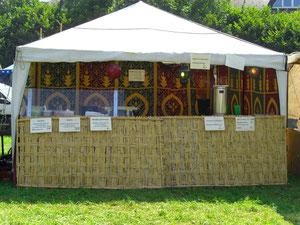orientalischer Imbissstand Mittelalterfest Golling