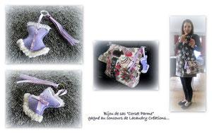 Bijou de sac corset lacaudry création