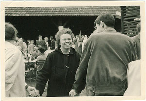 Odile HUBLER Mulhouse mai 1962 Fête de l'entraide par les jeunes