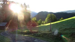 Wanderweg Spiessalm