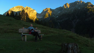 Hintergrund Tennengebirge