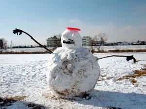 2012.2.4 雪だるま