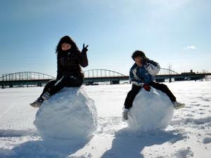 2013.1.19 雪だるま