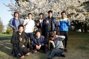 2012.4.28 遠見塚古墳にて