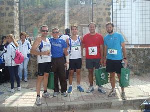 De izquierda a derecha,Francico Dorado, Juan Manrique,Joaqúin Serrano, Antonio Redondo y Kiki Some.
