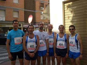 Componentes Club Maraton lucenaa.