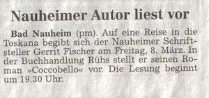 Wetterauer Zeitung, 06. März 2013