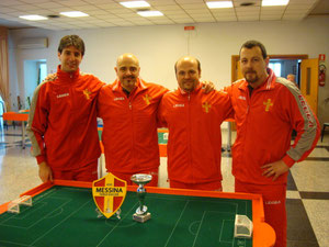 Il Messina Table Soccer presente a Foggia