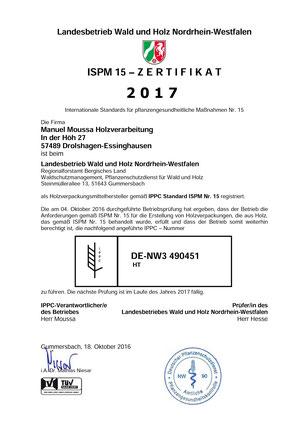 IPPC Zertifizierung - Ihr Experte für Holzverpackungen und Paletten!