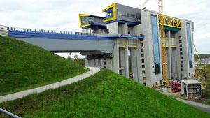 Neues Hebewerk in Finow