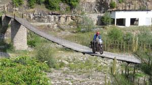 Hängebrücke in Bulgarien