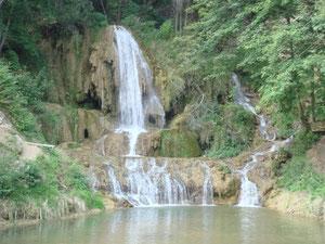 Wasserfälle sind häufig zu sehen