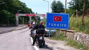 Grenzübertritt in die Türkei
