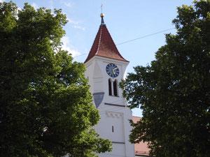 Linden im Dorfzentrum von Scherstetten