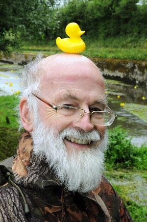 Terry Pratchett (unten)