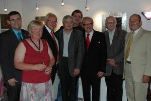 Hans Dill, Roswitha Roch, Franz Wieser, Manfred Kern, Leopold Wanderer, STR. Manfred Schweighofer