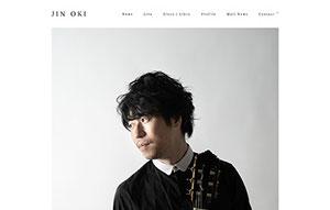 Jin Oki Official Web site